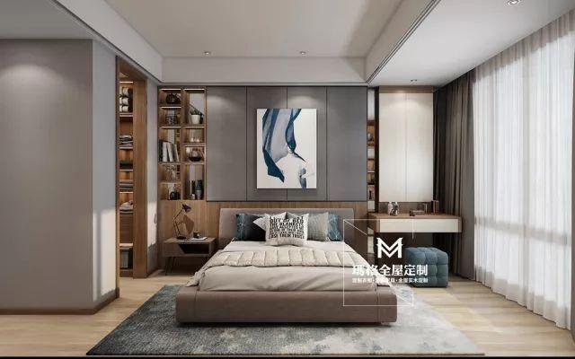床头背景墙应该怎么利用?4种床头背景墙设计