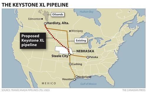 特朗普想建的一条长1900公里输油管道 被法官给否了