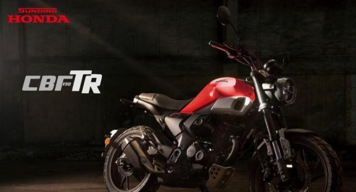支持官方套件改装,新本190复古CBF190TR亮相,搭配前轮ABS