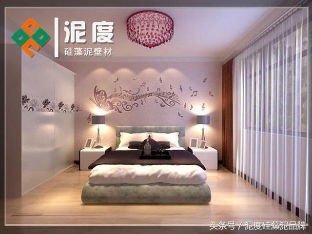 卧室硅藻泥装修效果图大全赏析!
