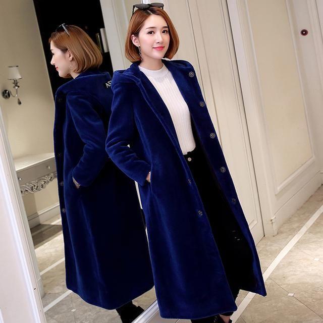 让女人一件就能满足的羊剪绒大衣,你买对了吗