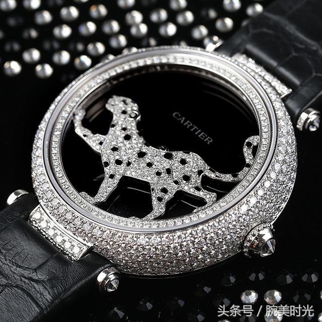 卡地亚CARTIER 创意宝石脚表 HPI00692 粗孬钻豹浏览蚂蚁花呗转账到