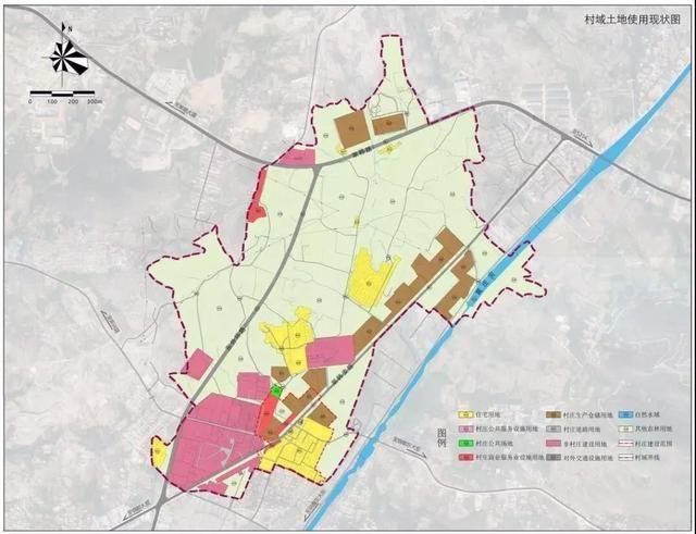 村域生态建设规划图