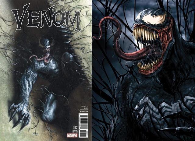 蜘蛛侠外传电影《毒液》变身画面曝光,外星生物与人类