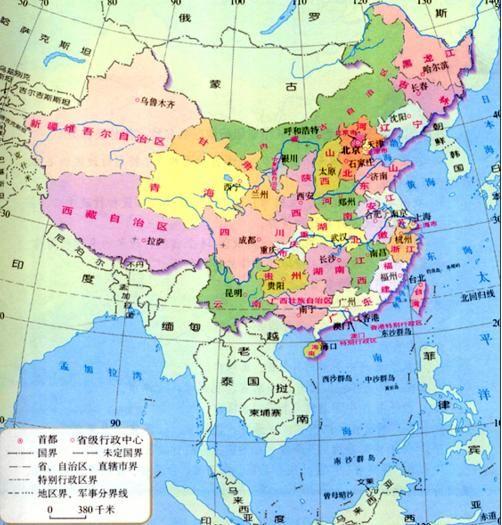 中国唯一内陆变沿海的省份,建省600年来一直没有出海口