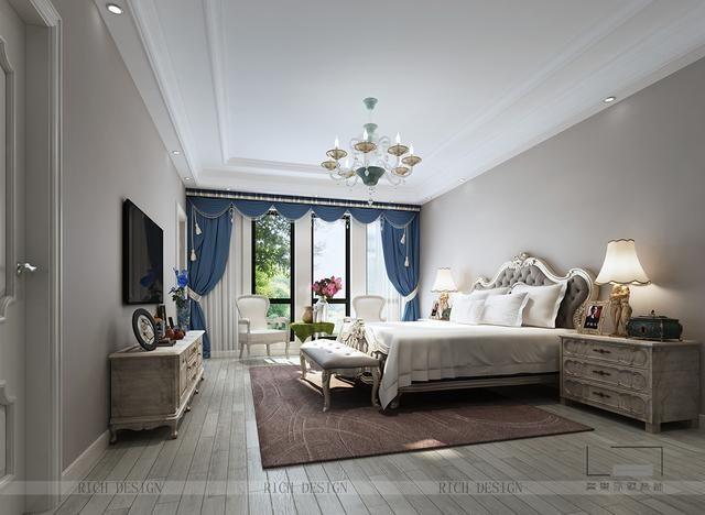 自然,温馨,舒适内敛的欧式别墅装修效果体验