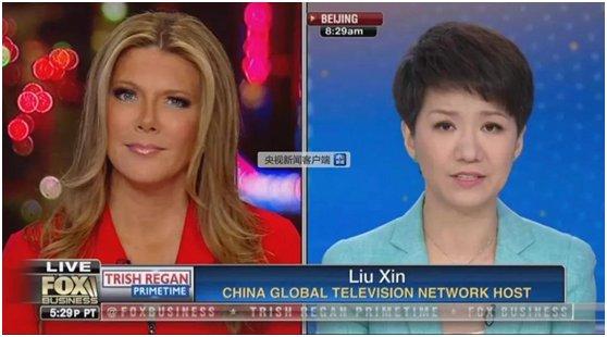 """中美女主播""""辩论""""外国网友点赞刘欣:很棒!"""