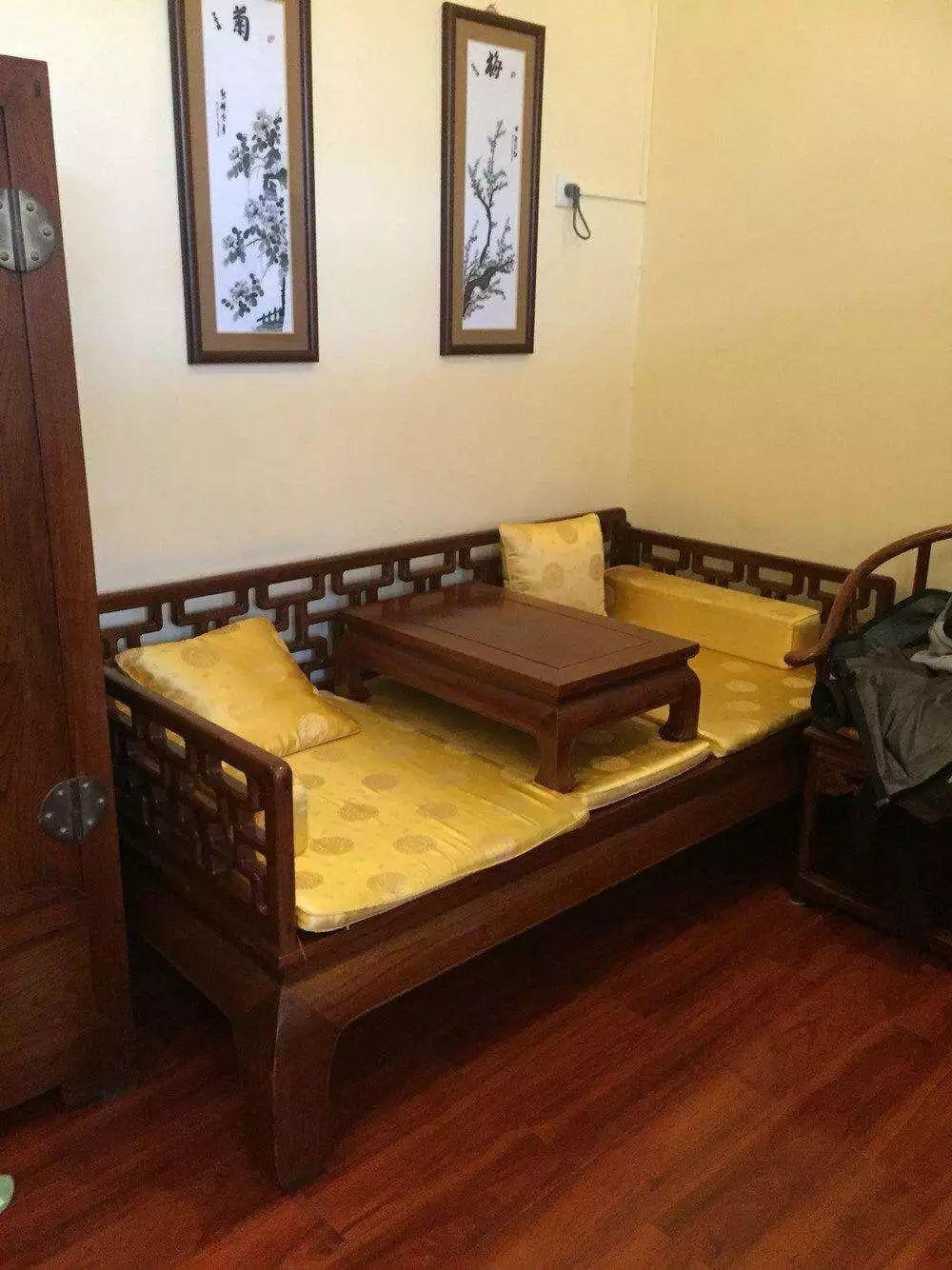 中国古典家具神器--罗汉床家具有限公司东莞市海逸图片