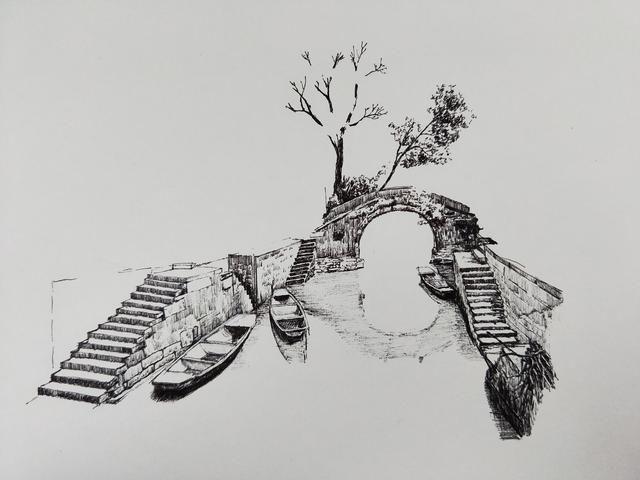 syh的钢笔画步骤及绘画感悟分享
