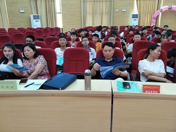 益阳市赫山区:中职阳光招生引导学生人生发展