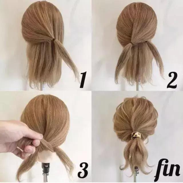 diy编发发型教程,简单易学一看就会哦!