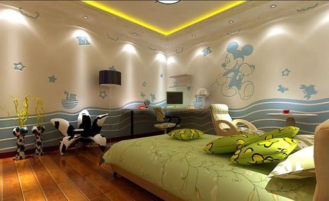 """孩子的卧室,好看的""""硅藻泥图案""""都有哪些?"""