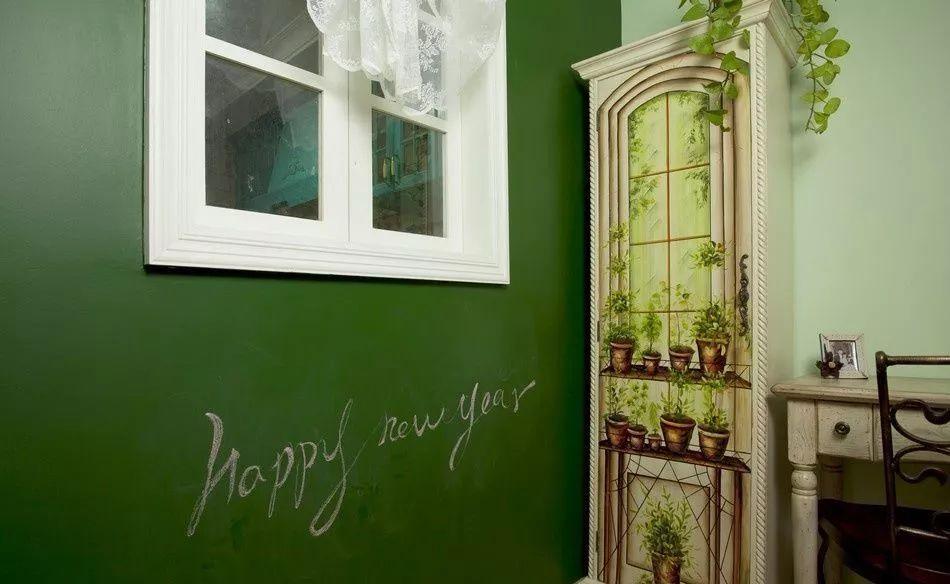 油漆自己刷,造句流程师傅做得差!(附v油漆板墙)富有花开情趣不比图片