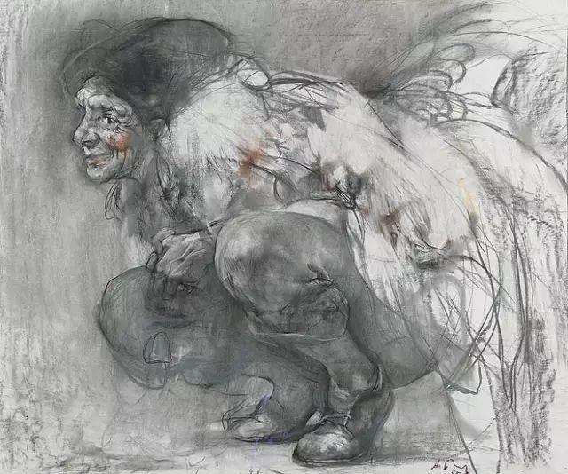 素描雕塑步骤画