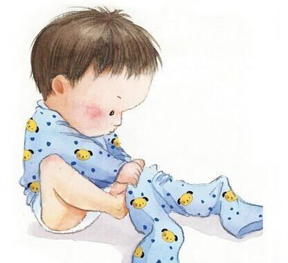是时候告诉你们,如何教宝宝自己穿脱衣服啦!