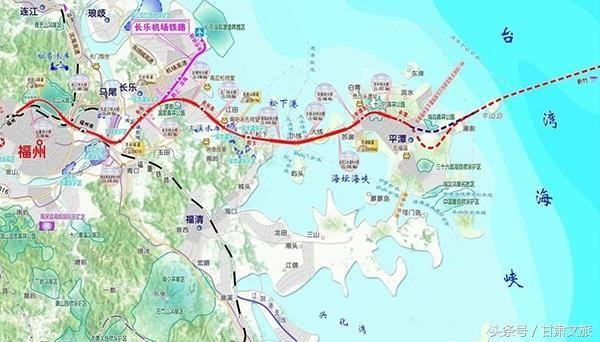 好消息!世界级大桥直通平潭岛,去台湾坐高铁就可以!