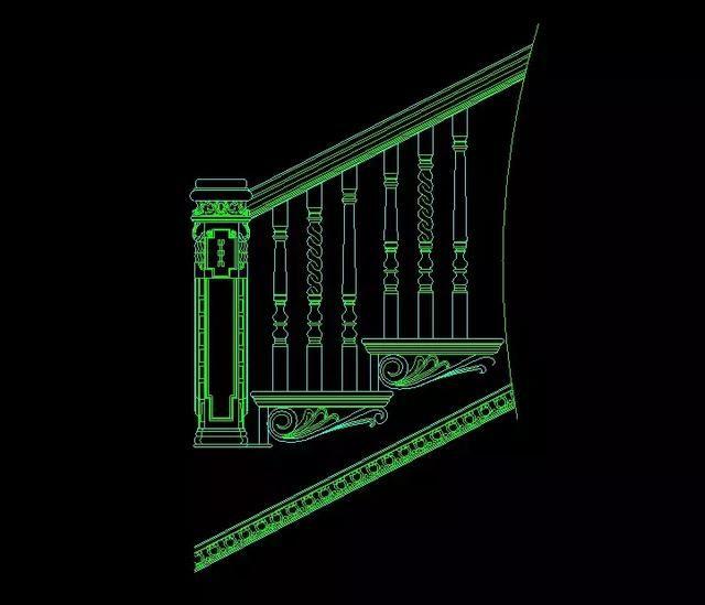 室内设计资源:120套功能详细CAD施工图+CAcadv资源用怎么楼梯批量图片