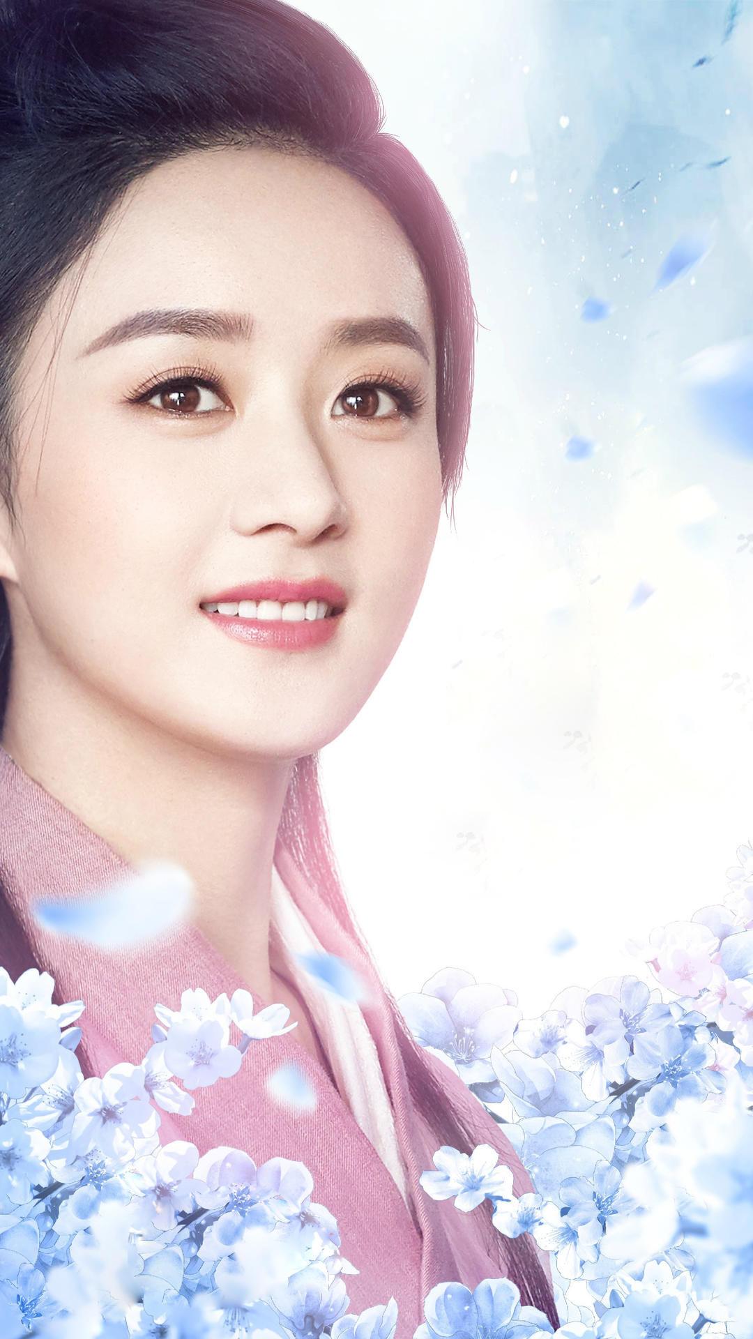 手机壁纸:赵丽颖,纯唯美,真人品,假想30年后的她|专辑