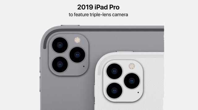 外媒:新iPad Pro将升级为三摄,10月份发布