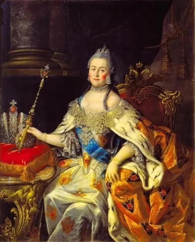 看叶卡捷琳娜二世如何步步为营地推翻那个不爱