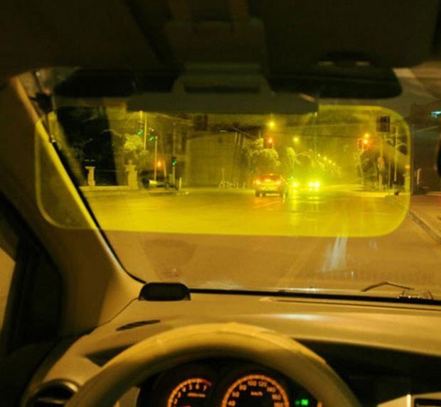 汽车 正文  汽车防远光灯神器眼镜防眩目遮阳板护目镜阳光明媚的天气