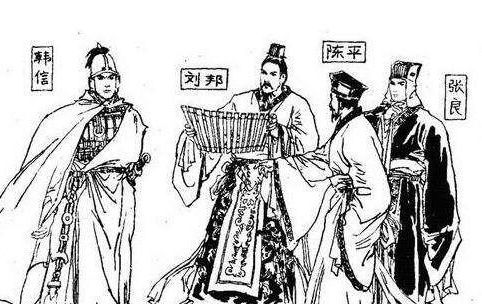 韩信,张良,萧何被誉为汉初三杰,为什么没有陈平呢?