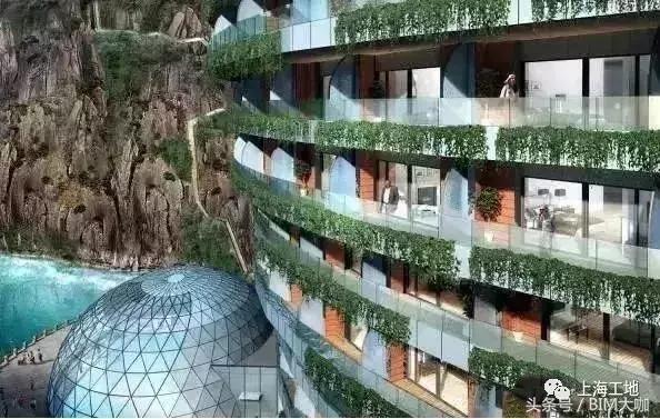 上海世茂深坑酒店无疑是全球独一无二的奇特工程 水族资讯 南昌水族馆第15张
