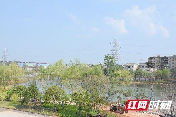 湘潭百亩湖即将变身公园预计11月中旬开园迎客
