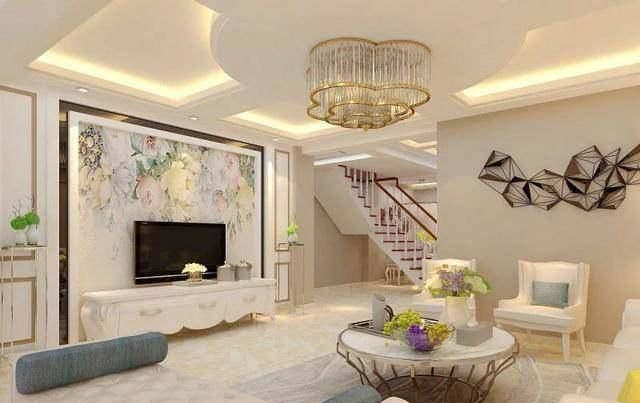 好漂亮的设计效果图,如果有一套这么好看漂亮的房子住那该多开心