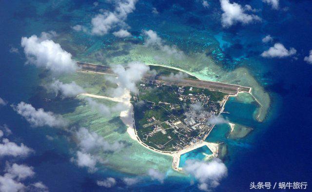 分别是三沙永兴机场,永暑礁机场,渚碧礁机场和美济礁机场.