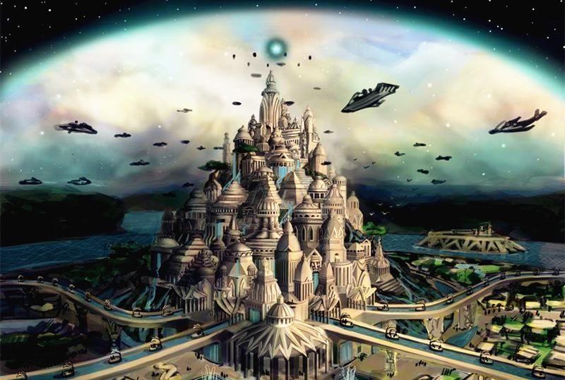 无与伦比的史前文明亚特兰蒂斯,是外星人的杰作还是地球人的智慧