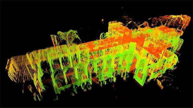 """巴黎圣母院激光建模重建!除了是复活历史的""""黑科技"""",这一技术还有哪些..."""