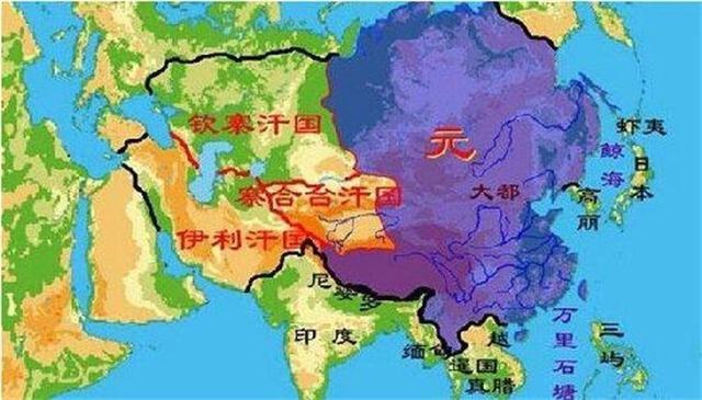 东北抵外兴安岭,包括库页岛,东南包括台湾,澎湖群岛.