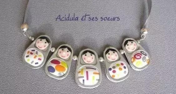 好玩又有创意,易拉罐拉环制作出可爱娃娃!