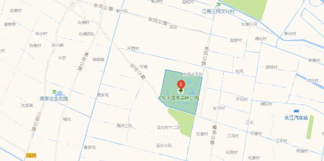 > 崇明南门 > 南东线或南江线 > 东平国家森林公园 自驾游线路(车客渡