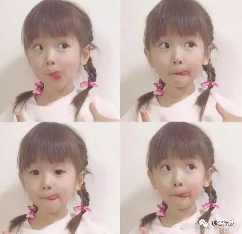 儿童长发diy发型编发,小女孩发型绑扎方法