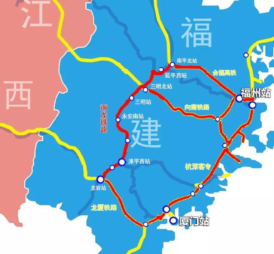 【滚动】南龙铁路三明段所有站点美图来了!下个月坐环闽动车去