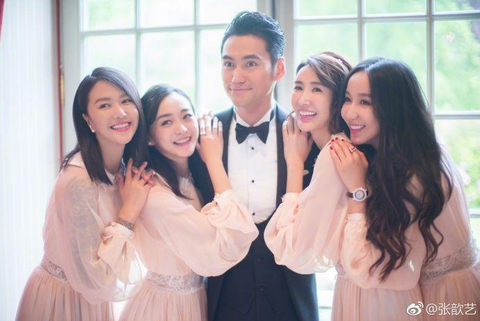 袁弘和张歆艺结婚两周年 微博晒出两年前的结