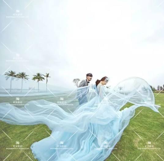 懂得保护自己,这款粉嫩的大裙摆梦幻婚纱,大气慵懒,是的金牛座的专属