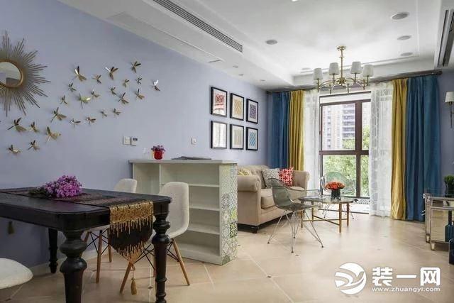 108平三室两厅效果图 简约风格装修造价9万