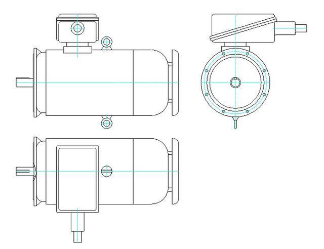 900机械CAD设计机械学习图纸多个,CAD文件cad里面把怎么粗变线图片