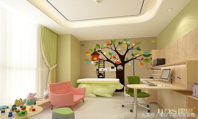 中高端儿科诊所设计:北京马家堡慈禄儿科门诊