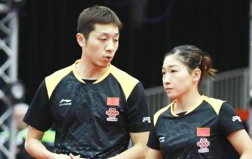 刘诗雯许昕获奥公赛混双冠军,奖金超乎大家的