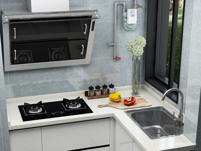 厨房不做吊柜效果图 无吊柜设计案例
