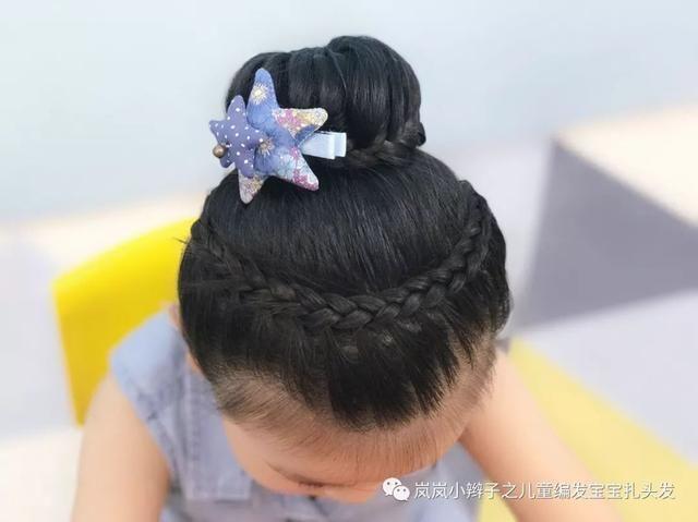 六一儿童节宝贝们的发型都选好了吗?这款扎发让宝贝公主范十足!