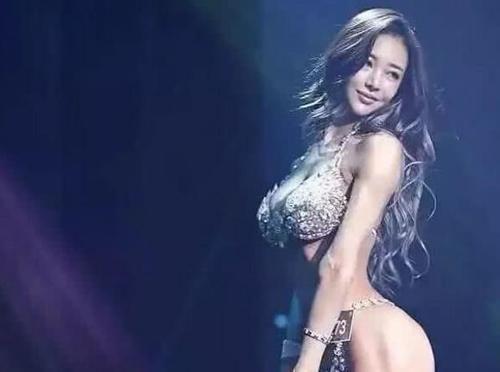 她是韩国第一健身女神,当看到她全身照那刻,这身材是认真的吗?