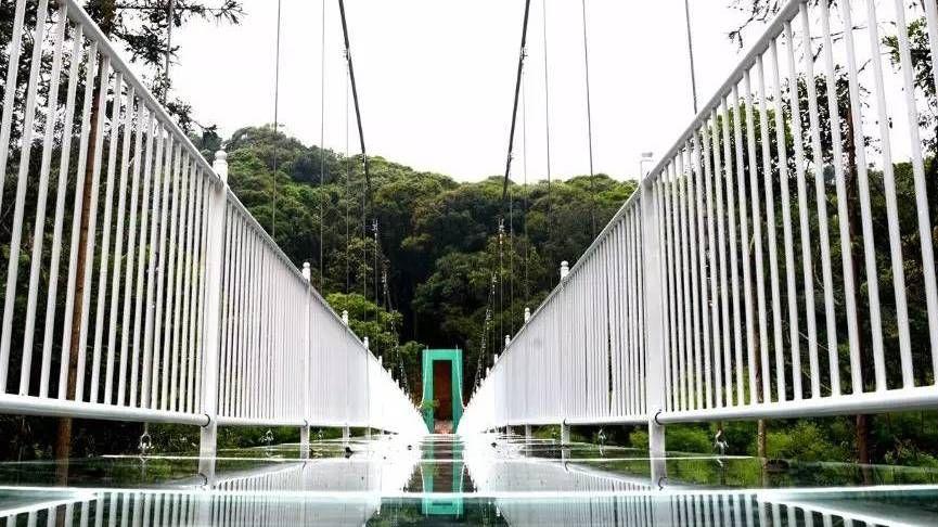吓到尿的广东玻璃桥正式开放!东莞出发只要54元!_突袭