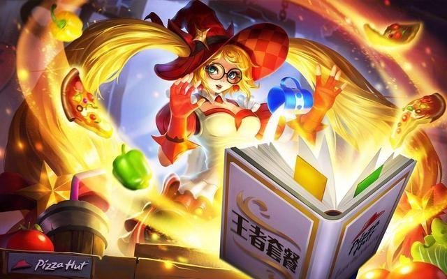 魔法为我而存在,暴走萝莉安琪拉 动漫手绘女生头像