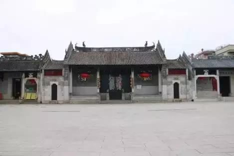 祠堂前广场设计