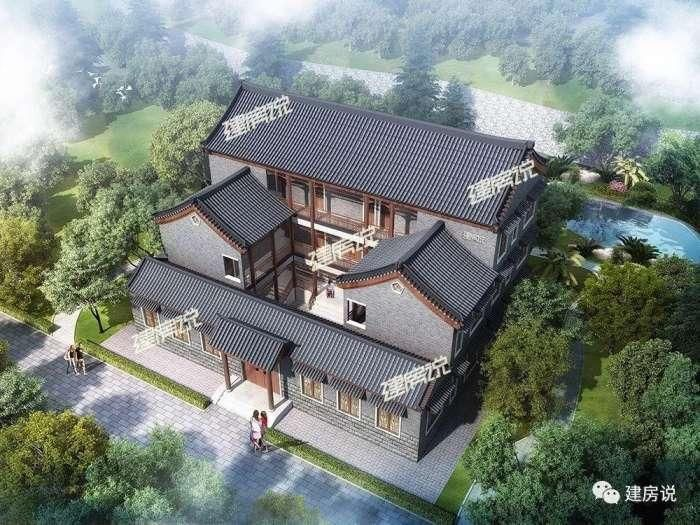 中式别墅15栋, 得此一美墅, 得一片宁静生活